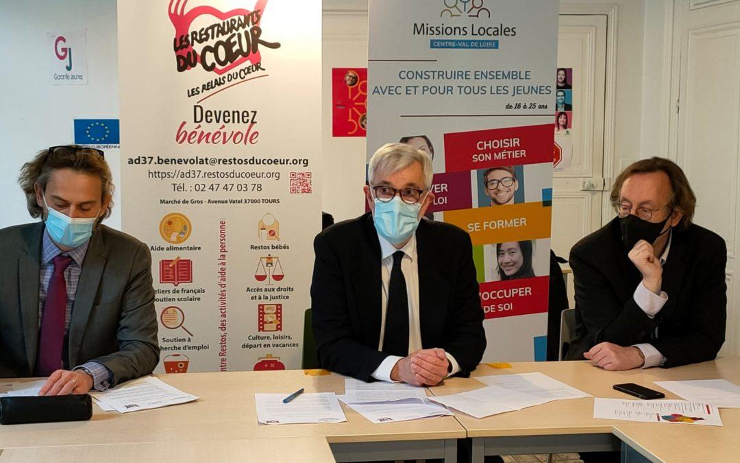Solidarité entre Missions Locales et Restaurants du Cœur en Centre Val de Loire